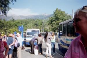 Bus Station in Simferopol Olga