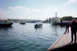Dock at Naval Base Sevastopol 2