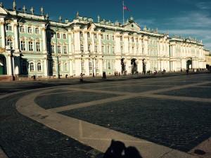 The Hermitage in St Petersburg