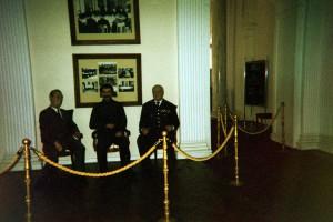 Wax Figures of Yalta Conference Libadia Palace