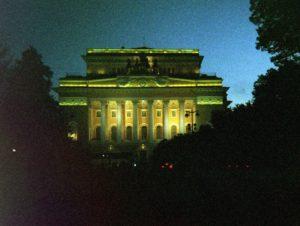 St Petersburg at Night.Edited